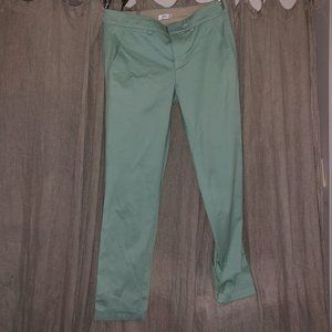 Vince AS NEW mint green classic cotton pants 4